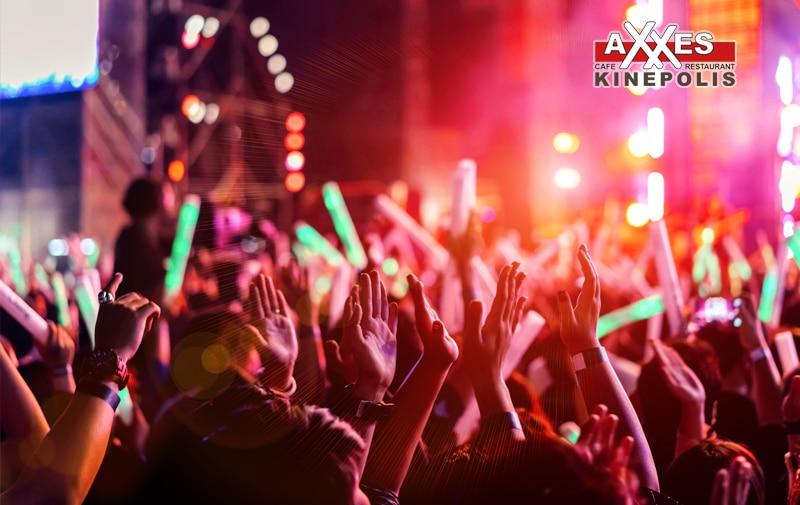 AXXES - cafe - restaurant - groepen - sportpaleis - concert