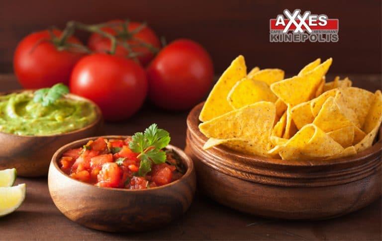 AXXES - Café & Restaurant - menu - voorgerecht
