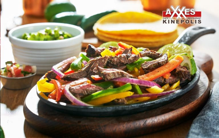 AXXES - cafe - restaurant - menu - fajitas