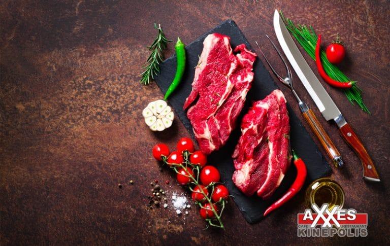AXXES - cafe - restaurant - menu - stonegrill - steak