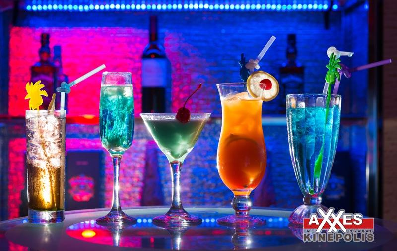 AXXES - cafe - restaurant - groepen - cocktails