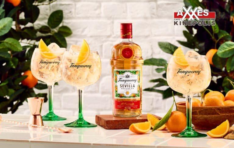 AXXES - cafe - restaurant - kaart - dranken - gin & tonic