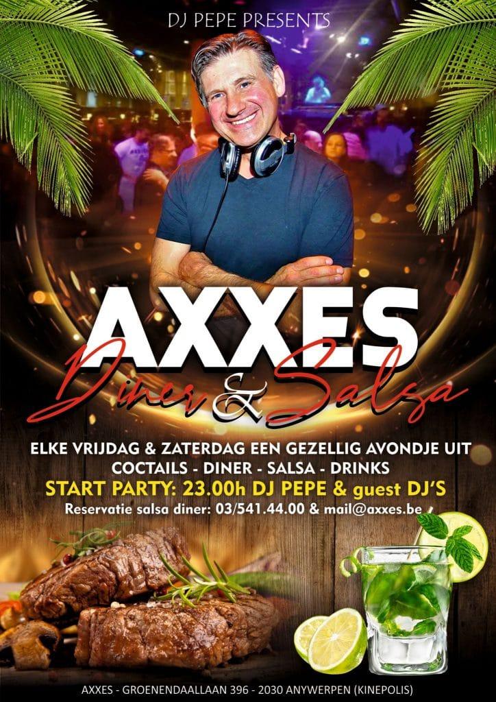 Axxes - dinner - salsa