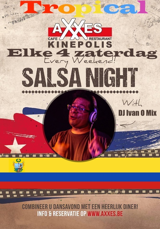 Axxes - salsa - night - tropical