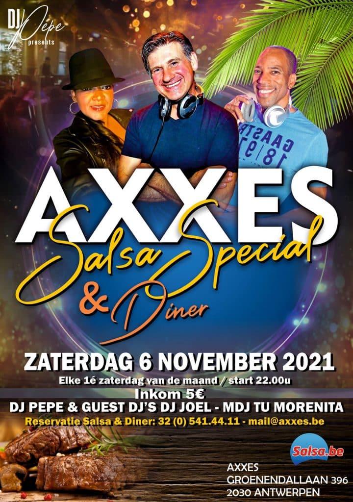 AXXES - special - salsa - nov 21